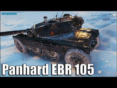 Немного ИМБОВЫЙ танк ✅ World of Tanks лучший бой EBR 105