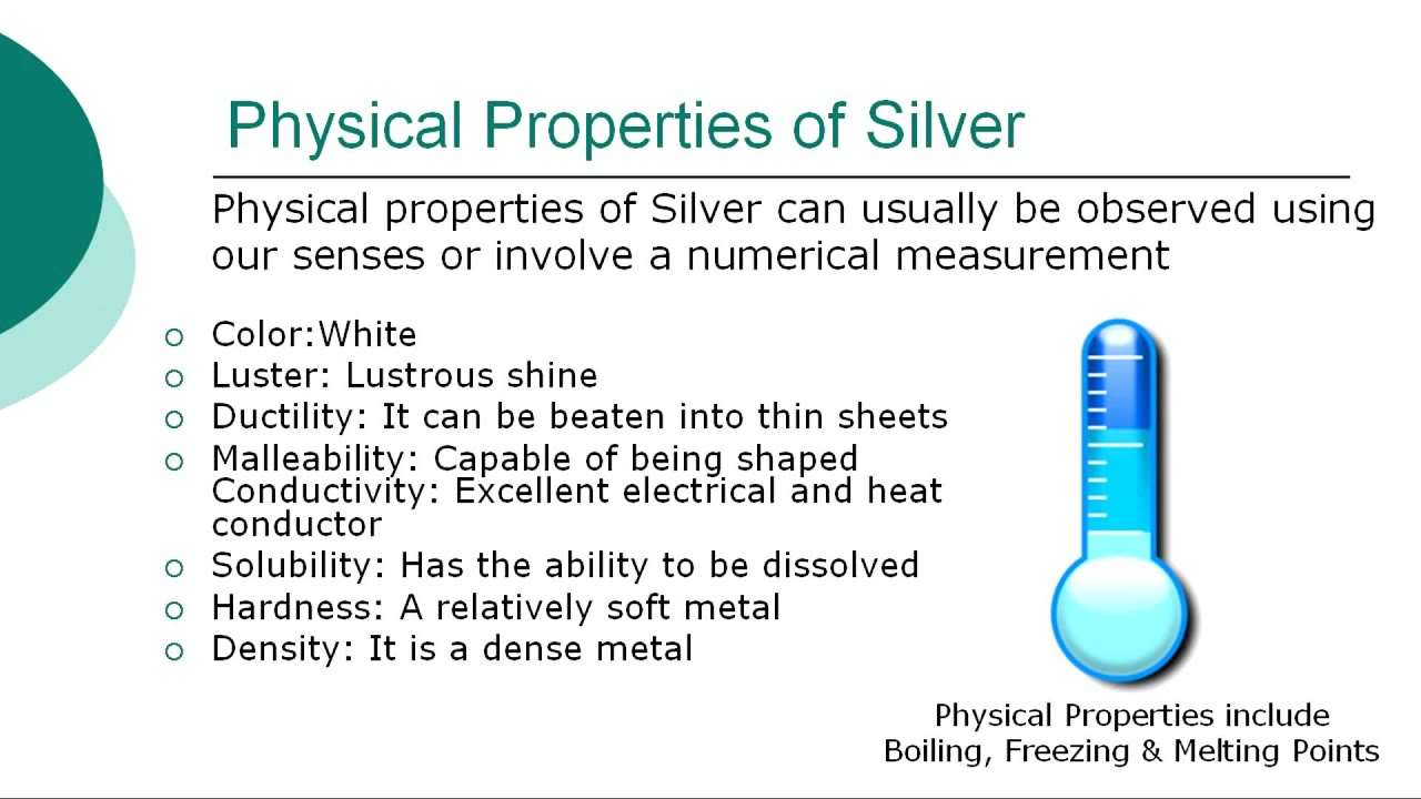 Silver Element *** - YouTube