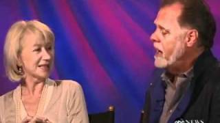 Taylor Hackford and Helen Mirren sing