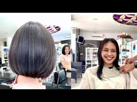 potong-rambut-bob-||-long-to-bob-haircut-|-hair-transformation-|-haircuts-bob