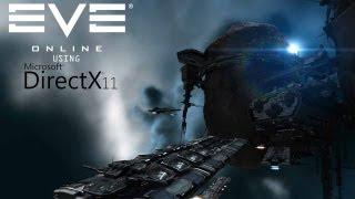 EVE Online Gameplay -  DirectX 11 demo using Tessellation