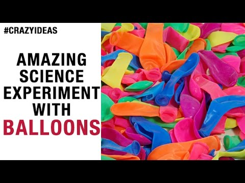 Amazing Science Experiment with Balloons | Simple and Easy Science ...