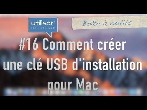 #16 Comment créer une clé USB d'installation pour Mac