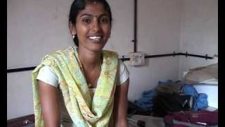 south indian girl - tailor