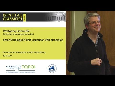 Digital Classicist Seminar Berlin (2016/2017) - Seminar 6