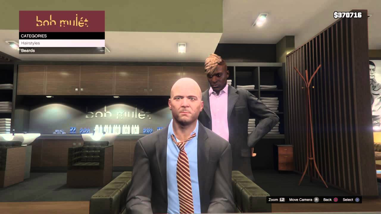 Grand Theft Auto V How To Make Michael De Santa Remade As Agent - Bald hairstyle gta 5
