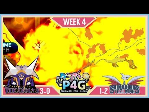 FROM THE ASHES!  Minnesota Vikavolts VS Detroit Steel Wings P4G S2 W4   Pokemon Sun Moon