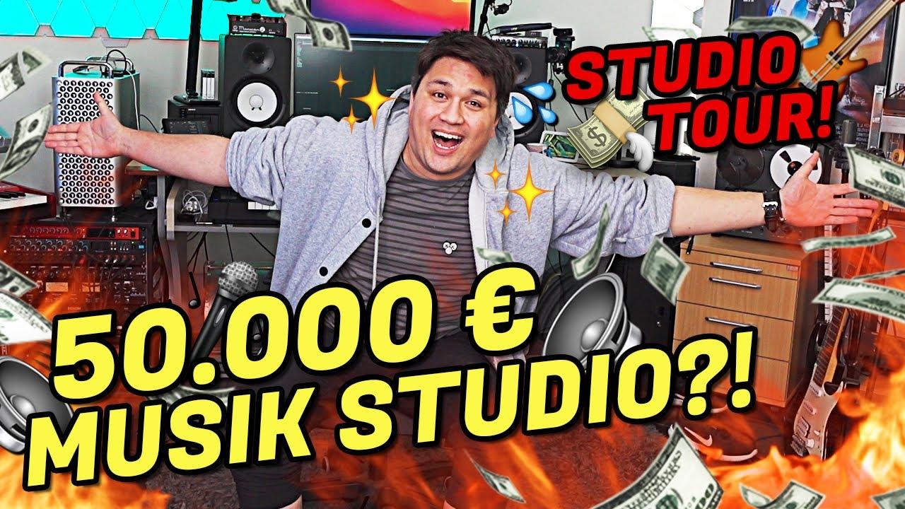 Download MEIN 50.000€ MUSIK STUDIO ist FERTIG?! 🎧🎹 (Roomtour)   Vincent Lee