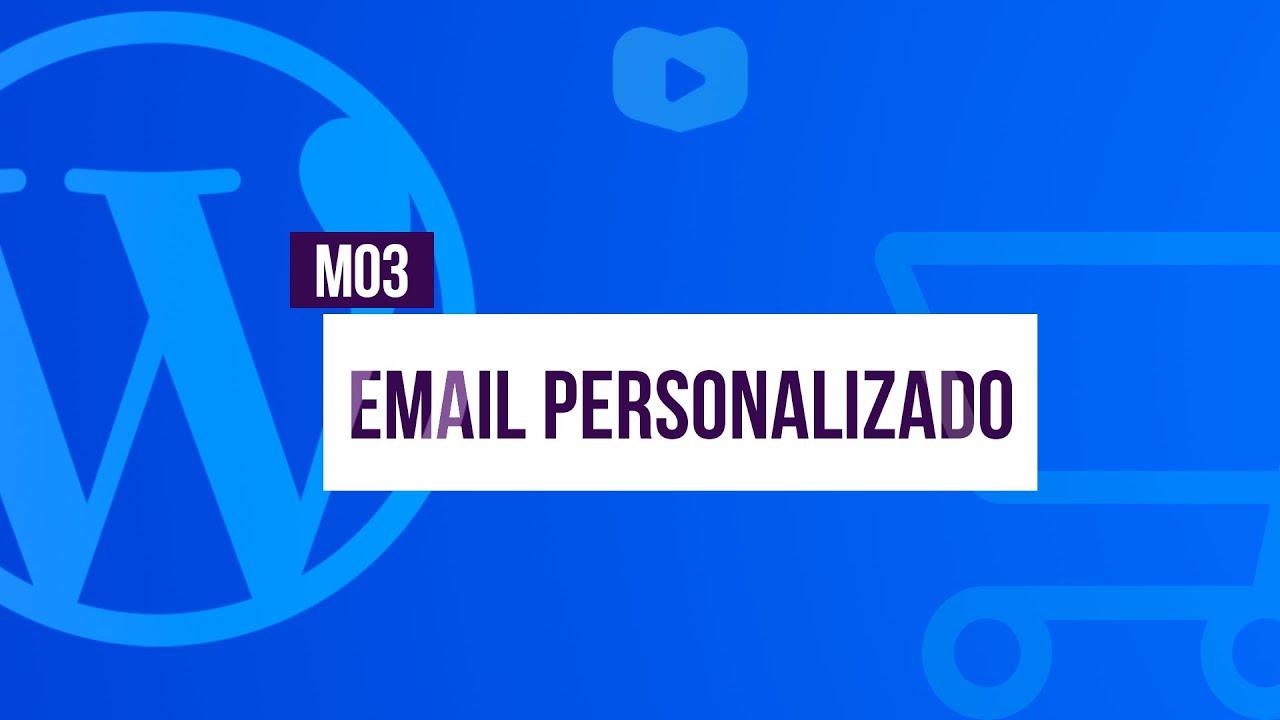 E-mails personalizados - Curso de Loja Virtual com WordPress + WooCommerce