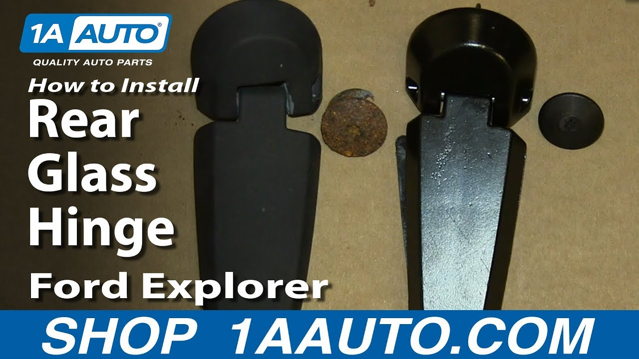 How to Replace Liftgate Glass Hinge 0205 Mercury