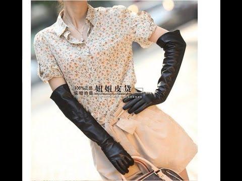 Распаковка. Женские кожаные перчатки за $ 28.50.