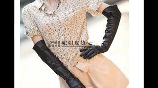 Распаковка. Женские кожаные перчатки за $ 28.50.(Заказывали вот тут ..., 2014-04-12T17:47:16.000Z)