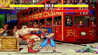 Street Fighter II Deluxe II - Zanguief vs Team