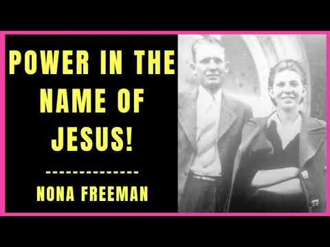 Power in the Name of Jesus by Nona Freeman