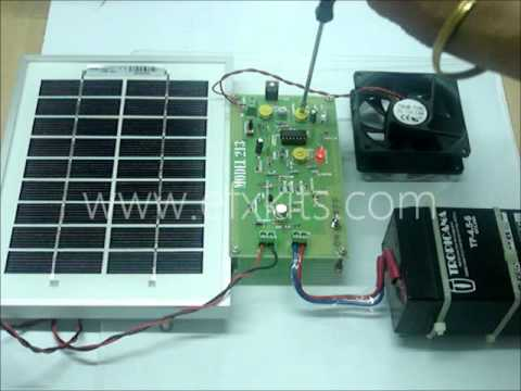 Solar Panel Charge Controller To Protect Battery From Over