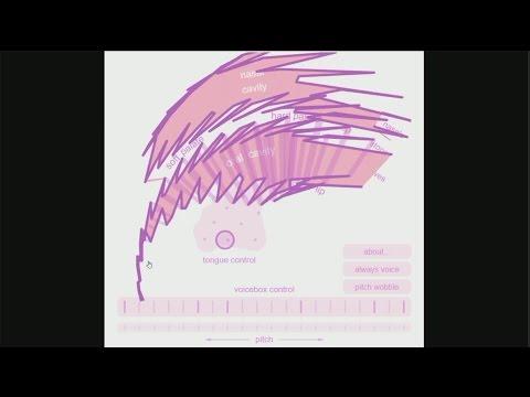 "Pink Trombone ""Speech Synthesis"""