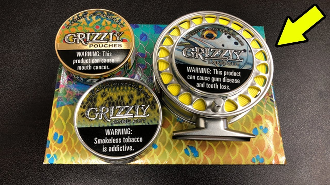 These New Grizzly FISH CAMO Cans Are SICK!