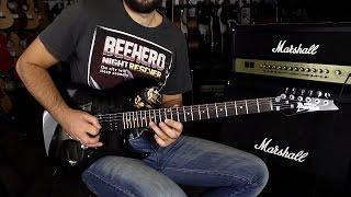 IBANEZ GRX70QA TKS - Guitar Demo