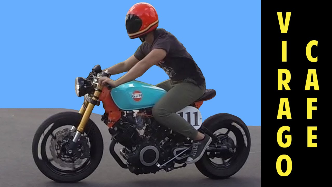 Moto Cafe Racer Gulf