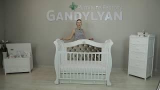 Обзор детской кроватки Гандылян Габриэлла Люкс Плюс