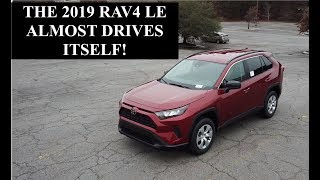 2019 Toyota Rav4 LE - Test Drive and Review