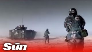 New Chinese military video brimming with its latest weapons