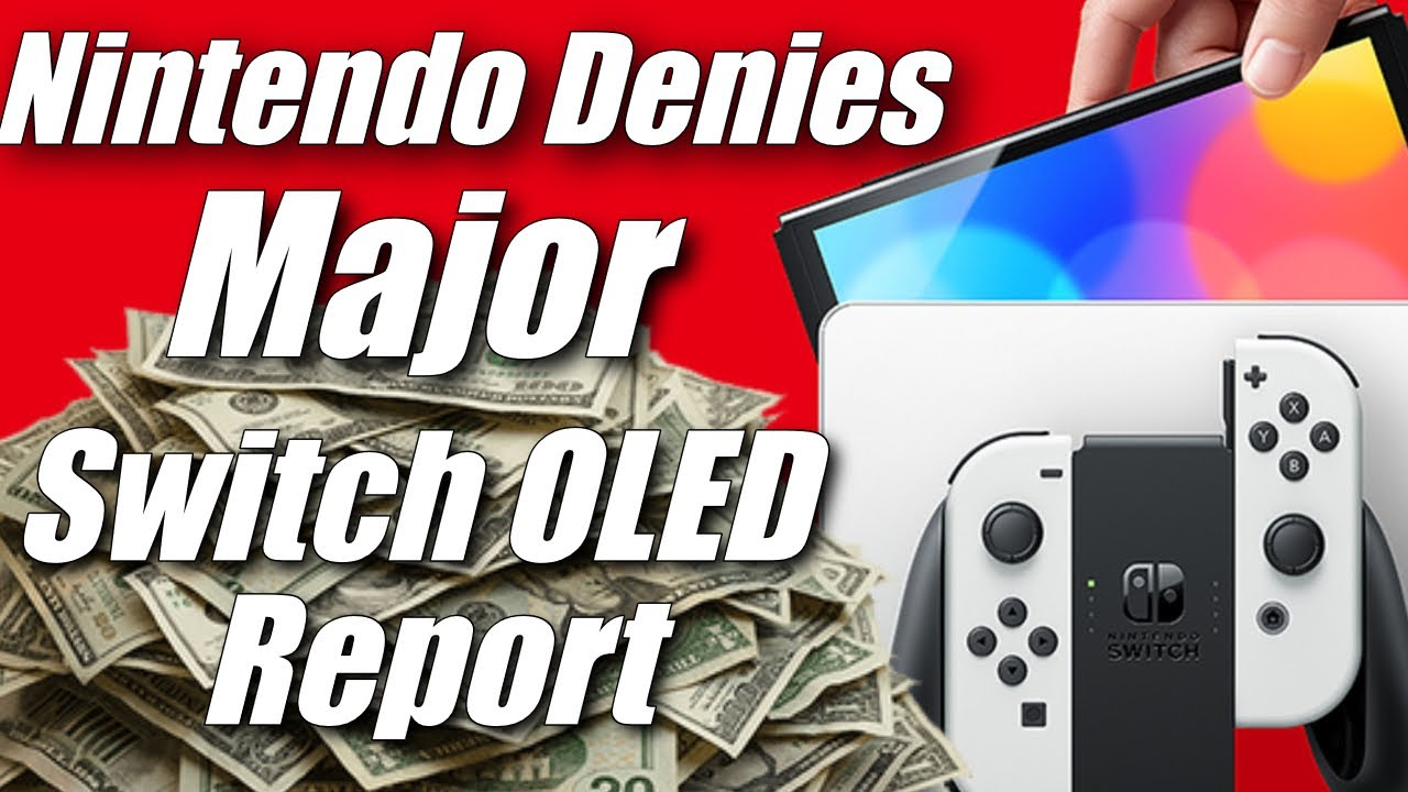 Nintendo Calls Out Bloomberg & Discredits Switch OLED Profits Report But There's a Problem (ft. MVG)