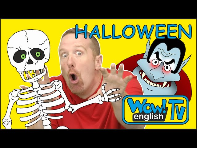 Hide Seek Kids: Halloween Finger Family Songs With Hide And Seek From