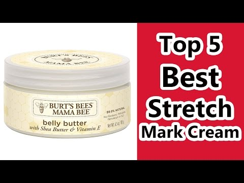 Top 5 Best Stretch Mark Cream  2016 Best Cream for Stretch Marks Reviews