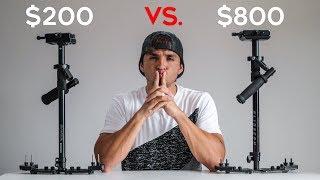 Glidecam DGS ($800) vs. Flycam Redking ($200)