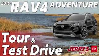 2019 Toyota RAV4 Adventure Tour & Test Drive