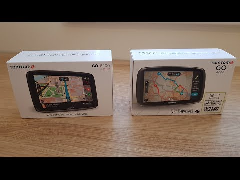 Tomtom GO 6200 vs 6000 Review Comparison - Which should you buy?