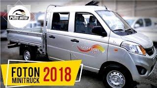 FOTON MINITRUCK 2018 DOBLE CABINA MOTOR 1.5CC