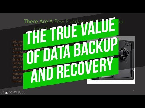The Value of Data Backup and Recovery (2019) | Fuelled Networks Mp3