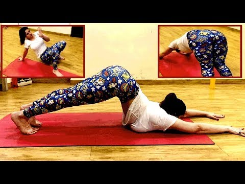 HOT Zareen Khan AMAZING Yoga Workout | Bollywood 2019