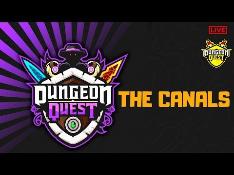 🔴  UPDATE THE CANALS 🗡️ *NO CARRYS* DUNGEON QUEST GRIND ROBLOX LIVE  [ 18th July 2019]