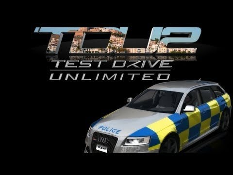 test drive unlimited 2 gameplay audi rs6 avant london police paint job timelapse youtube. Black Bedroom Furniture Sets. Home Design Ideas