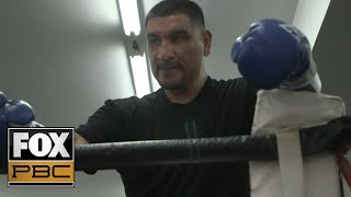 Chris Arreola's open workout ahead of his heavyweight showdown against Andy Ruiz Jr. | PBC ON FOX