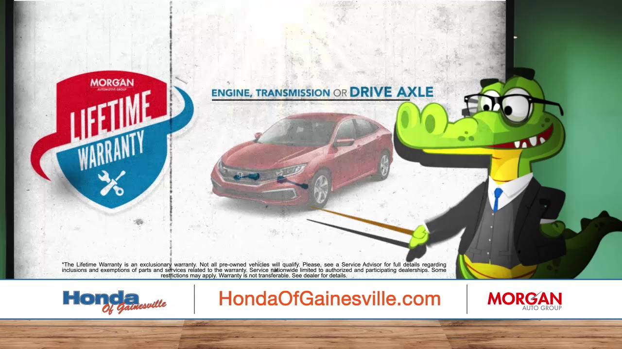 Honda Of Gainesville >> Get The Honda Of Gainesville Lifetime Warranty Youtube
