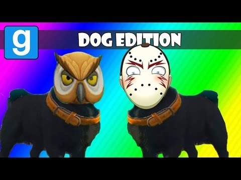 VanossGaming Gmod Hide and Seek Dog Edition! Garry's Mod Funny Moments