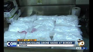 Drone caught flying packages of meth over San Diego border