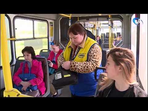 Жители Великого Новгорода вскоре смогут расплатиться за проезд в автобусе «Берестой»