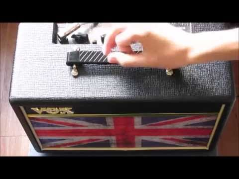 Vox Pathfinder Union Jack Unboxing and Demo
