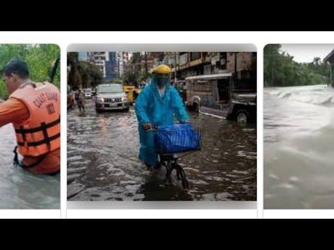 Philippines Big Monsoon Strikes The City Of Manila,By Eric Pangilinan