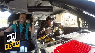 NASCAR's Clint Bowyer takes rookie on the ultimate Vegas burnout experience I NBC Sports