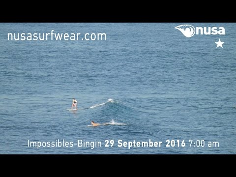 29-09-2016 /✰ / NUSA's Daily Surf Video Report from the Bukit, Bali.