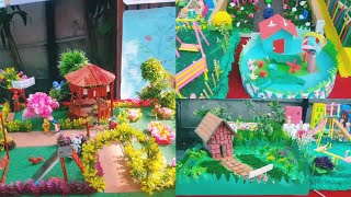 Summer season craft / Summer craft projects in school / beautiful diy crafts and cards made by kids