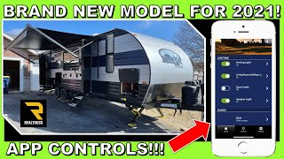 Grey Wolf 26BRB, New Owner Review! Silverado Sierra Tow Mirrors, Trimax Trailer Lock