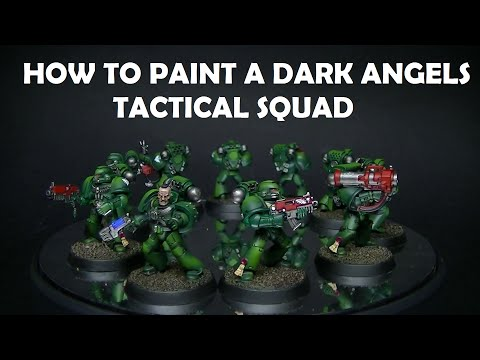 How to paint Space Marine