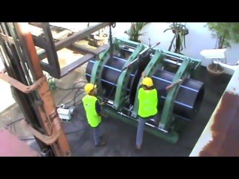 Máy hàn ống nhựa HDPE - TECNODUE - Cty Đồng Lợi P2